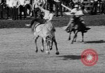 Image of rodeo Pendleton Oregon USA, 1955, second 32 stock footage video 65675071442