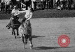 Image of rodeo Pendleton Oregon USA, 1955, second 33 stock footage video 65675071442