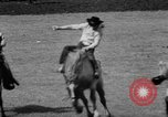 Image of rodeo Pendleton Oregon USA, 1955, second 35 stock footage video 65675071442