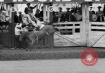 Image of rodeo Pendleton Oregon USA, 1955, second 39 stock footage video 65675071442