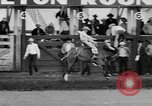 Image of rodeo Pendleton Oregon USA, 1955, second 46 stock footage video 65675071442