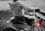 Image of rodeo Pendleton Oregon USA, 1955, second 50 stock footage video 65675071442