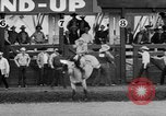 Image of rodeo Pendleton Oregon USA, 1955, second 51 stock footage video 65675071442