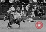 Image of rodeo Pendleton Oregon USA, 1955, second 57 stock footage video 65675071442