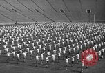 Image of cadets sit-ups New Haven Connecticut USA, 1944, second 10 stock footage video 65675071446