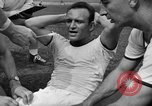 Image of cadets sit-ups New Haven Connecticut USA, 1944, second 13 stock footage video 65675071446