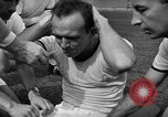 Image of cadets sit-ups New Haven Connecticut USA, 1944, second 14 stock footage video 65675071446