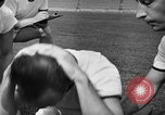 Image of cadets sit-ups New Haven Connecticut USA, 1944, second 16 stock footage video 65675071446