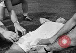 Image of cadets sit-ups New Haven Connecticut USA, 1944, second 18 stock footage video 65675071446