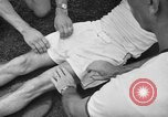 Image of cadets sit-ups New Haven Connecticut USA, 1944, second 24 stock footage video 65675071446