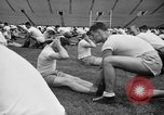 Image of cadets sit-ups New Haven Connecticut USA, 1944, second 41 stock footage video 65675071446