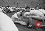 Image of cadets sit-ups New Haven Connecticut USA, 1944, second 42 stock footage video 65675071446