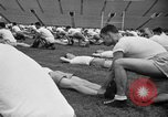 Image of cadets sit-ups New Haven Connecticut USA, 1944, second 45 stock footage video 65675071446