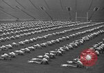 Image of cadets sit-ups New Haven Connecticut USA, 1944, second 46 stock footage video 65675071446