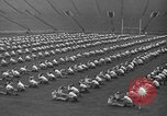 Image of cadets sit-ups New Haven Connecticut USA, 1944, second 48 stock footage video 65675071446