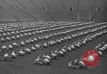 Image of cadets sit-ups New Haven Connecticut USA, 1944, second 50 stock footage video 65675071446