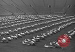 Image of cadets sit-ups New Haven Connecticut USA, 1944, second 51 stock footage video 65675071446