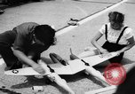 Image of model aircraft New York United States USA, 1957, second 7 stock footage video 65675071462