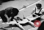 Image of model aircraft New York United States USA, 1957, second 8 stock footage video 65675071462