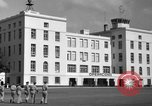 Image of Cuban Air Force headquarters at Campo Columbia Havana Cuba, 1953, second 24 stock footage video 65675071474