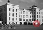 Image of Cuban Air Force headquarters at Campo Columbia Havana Cuba, 1953, second 25 stock footage video 65675071474