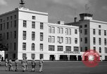 Image of Cuban Air Force headquarters at Campo Columbia Havana Cuba, 1953, second 26 stock footage video 65675071474