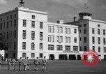 Image of Cuban Air Force headquarters at Campo Columbia Havana Cuba, 1953, second 27 stock footage video 65675071474