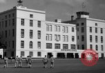 Image of Cuban Air Force headquarters at Campo Columbia Havana Cuba, 1953, second 30 stock footage video 65675071474