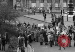 Image of demonstrations against Vietnam War London England United Kingdom, 1968, second 12 stock footage video 65675071476