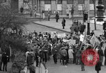 Image of demonstrations against Vietnam War London England United Kingdom, 1968, second 15 stock footage video 65675071476