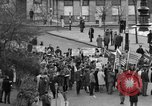 Image of demonstrations against Vietnam War London England United Kingdom, 1968, second 16 stock footage video 65675071476