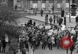 Image of demonstrations against Vietnam War London England United Kingdom, 1968, second 18 stock footage video 65675071476