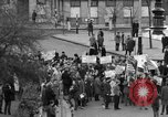 Image of demonstrations against Vietnam War London England United Kingdom, 1968, second 20 stock footage video 65675071476