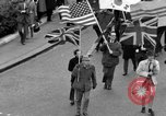Image of demonstrations against Vietnam War London England United Kingdom, 1968, second 23 stock footage video 65675071476