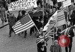 Image of demonstrations against Vietnam War London England United Kingdom, 1968, second 26 stock footage video 65675071476