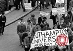 Image of demonstrations against Vietnam War London England United Kingdom, 1968, second 35 stock footage video 65675071476