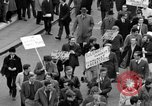 Image of demonstrations against Vietnam War London England United Kingdom, 1968, second 38 stock footage video 65675071476