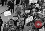 Image of demonstrations against Vietnam War London England United Kingdom, 1968, second 39 stock footage video 65675071476