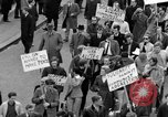 Image of demonstrations against Vietnam War London England United Kingdom, 1968, second 40 stock footage video 65675071476