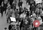 Image of demonstrations against Vietnam War London England United Kingdom, 1968, second 41 stock footage video 65675071476