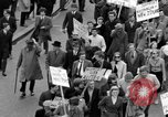 Image of demonstrations against Vietnam War London England United Kingdom, 1968, second 42 stock footage video 65675071476