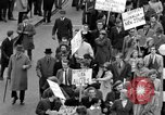 Image of demonstrations against Vietnam War London England United Kingdom, 1968, second 43 stock footage video 65675071476