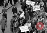 Image of demonstrations against Vietnam War London England United Kingdom, 1968, second 44 stock footage video 65675071476