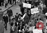 Image of demonstrations against Vietnam War London England United Kingdom, 1968, second 45 stock footage video 65675071476