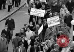Image of demonstrations against Vietnam War London England United Kingdom, 1968, second 46 stock footage video 65675071476