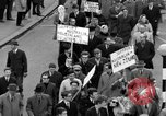 Image of demonstrations against Vietnam War London England United Kingdom, 1968, second 47 stock footage video 65675071476
