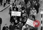 Image of demonstrations against Vietnam War London England United Kingdom, 1968, second 49 stock footage video 65675071476