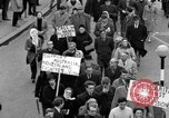 Image of demonstrations against Vietnam War London England United Kingdom, 1968, second 50 stock footage video 65675071476