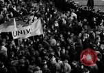 Image of demonstrations against Vietnam War London England United Kingdom, 1968, second 55 stock footage video 65675071476
