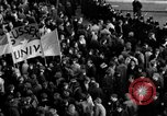 Image of demonstrations against Vietnam War London England United Kingdom, 1968, second 56 stock footage video 65675071476